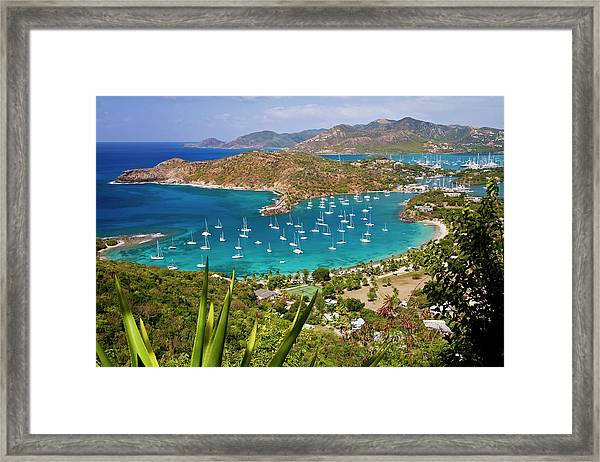 English Harbour, Antigua Framed Print