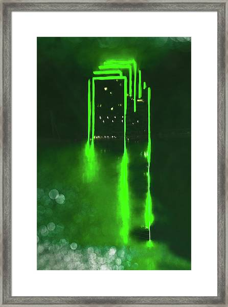 Entropy Framed Print