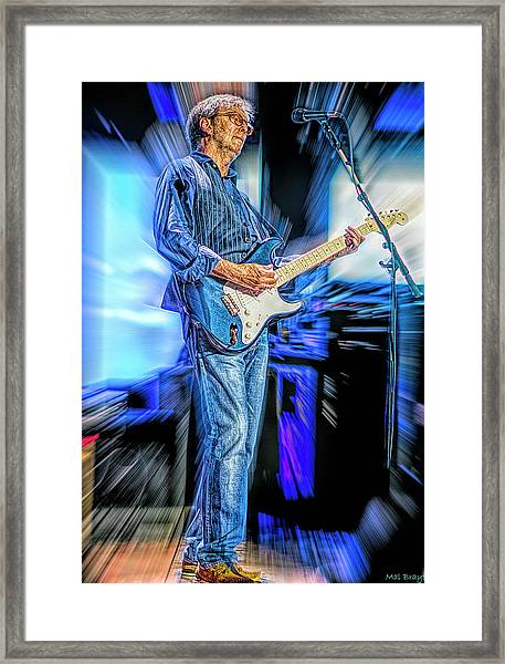Eric Clapton Slowhand Framed Print