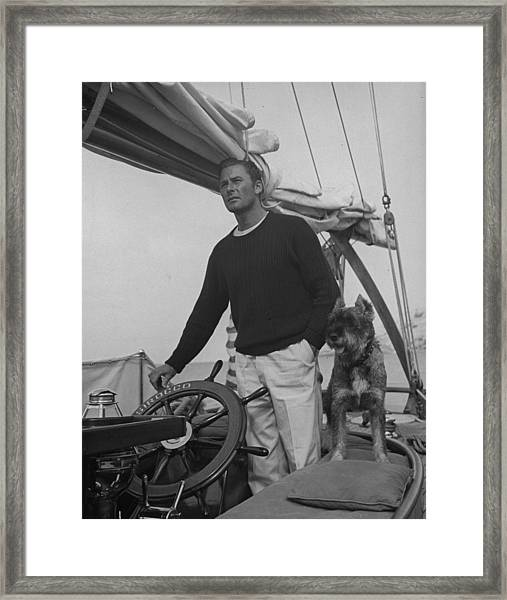 Errol Flynn Framed Print