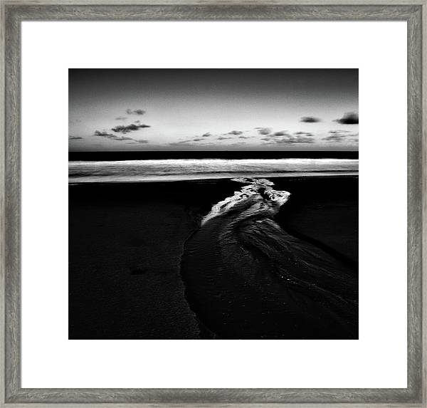 Estuary To The Sea Framed Print