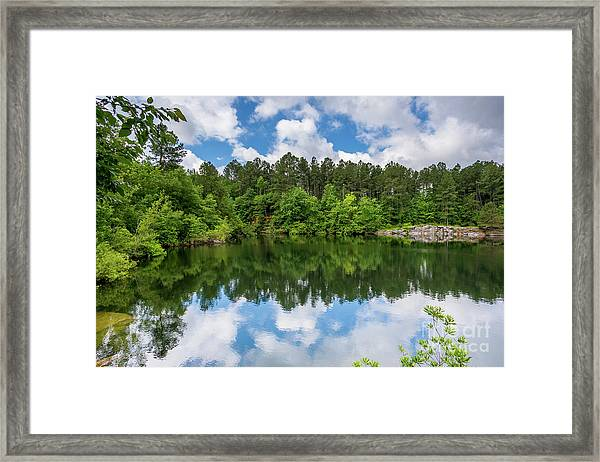 Euchee Creek Park - Grovetown Trails Near Augusta Ga 1 Framed Print