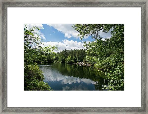 Euchee Creek Park - Grovetown Trails Near Augusta Ga 2 Framed Print