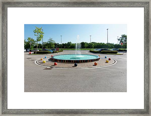 Euro New Topographics 18 Framed Print