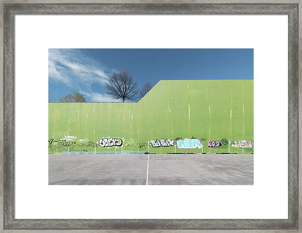Euro New Topographics 26 Framed Print