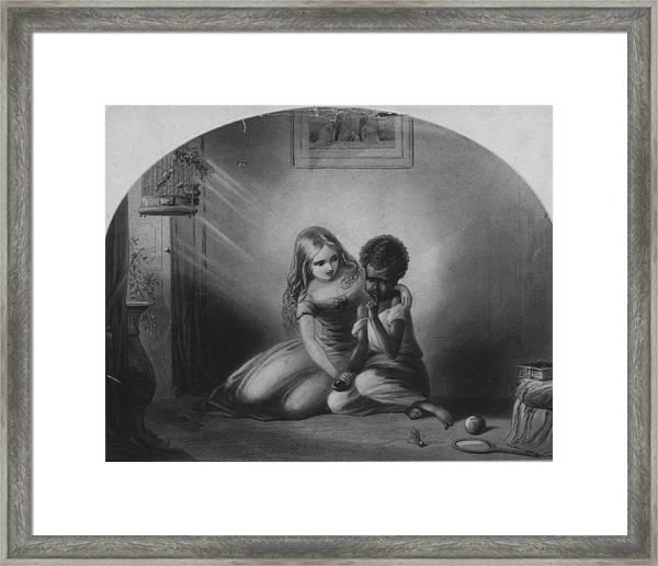 Eva And Topsy Framed Print