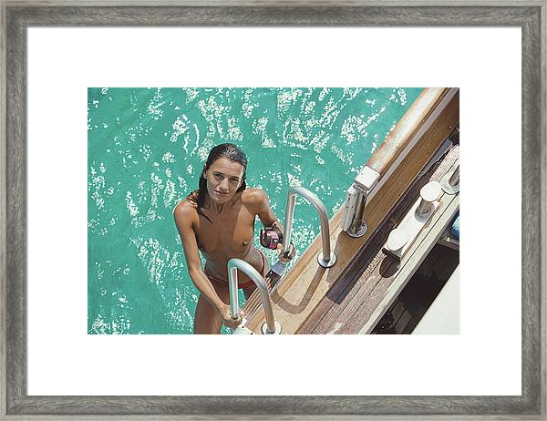 Eva Maria Lopez Framed Print