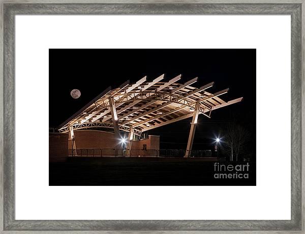 Evans Towne Center Park - Augusta Ga Framed Print