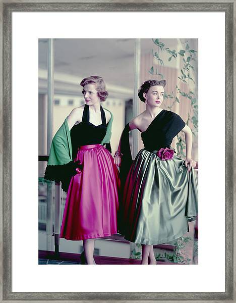 Evening Chic Framed Print by Hulton Archive