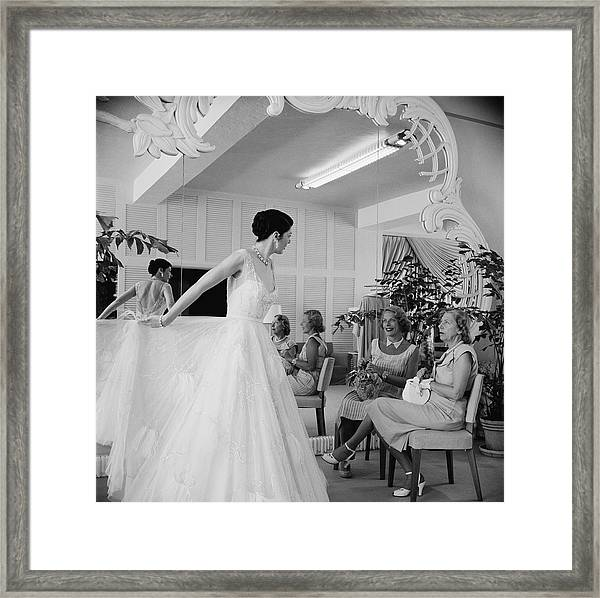 Exclusive Fashions Framed Print