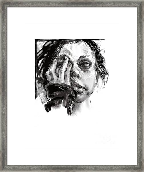 Exhaustion Framed Print