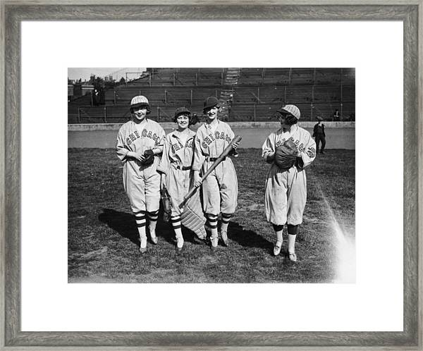 Exhibition Game Framed Print