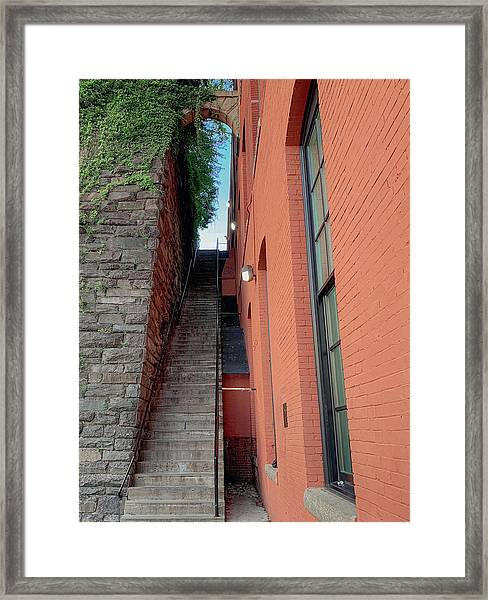 Exorcist Stairs Beauty Framed Print