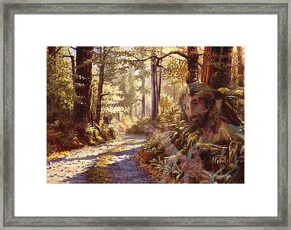 Explore With Me Framed Print