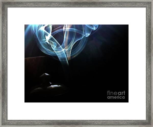 Framed Print featuring the photograph Eye by Atousa Raissyan