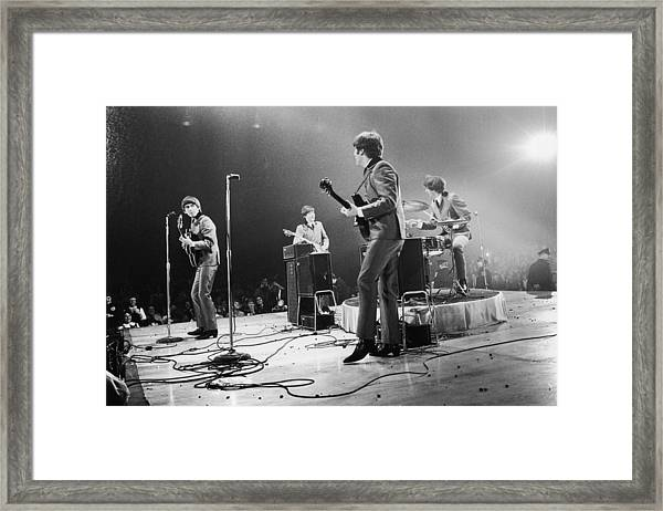 Fab Four Stateside Framed Print