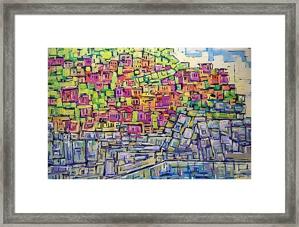 Facades Framed Print