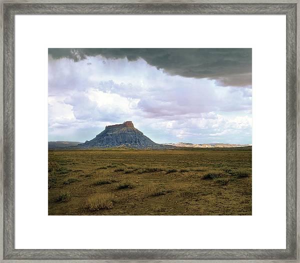 Factory Butte Framed Print