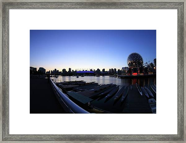 Fading Into Twilight Framed Print