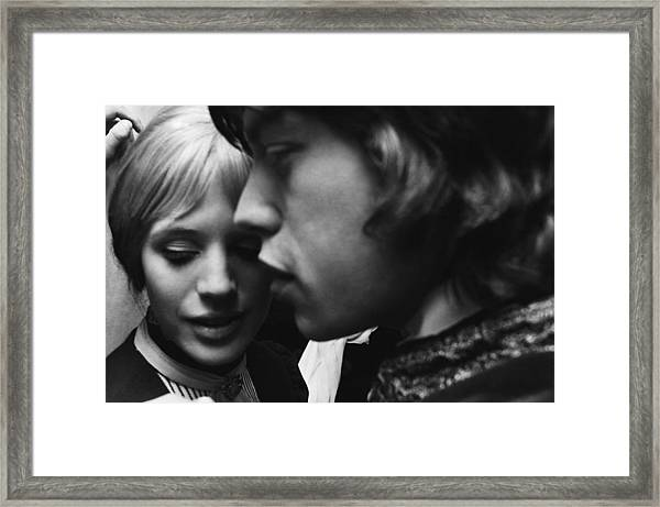 Faithfull To Jagger Framed Print by C. Maher