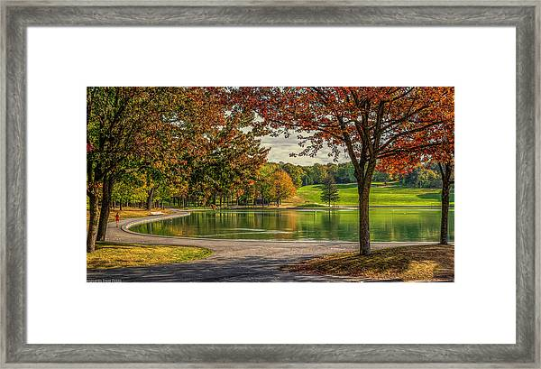 Fall In Montreal Framed Print
