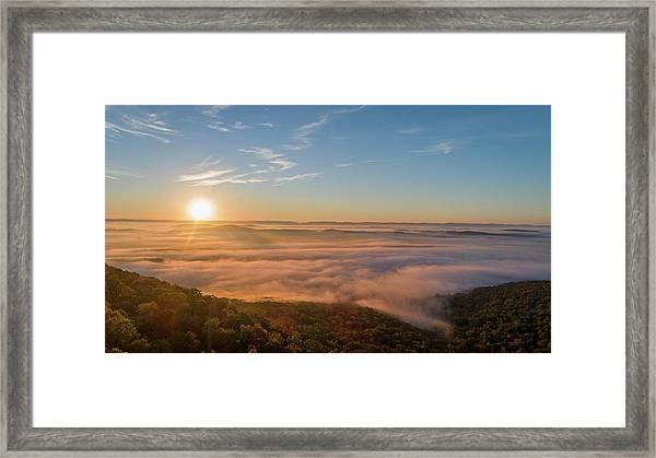 Fall Sunrise Framed Print
