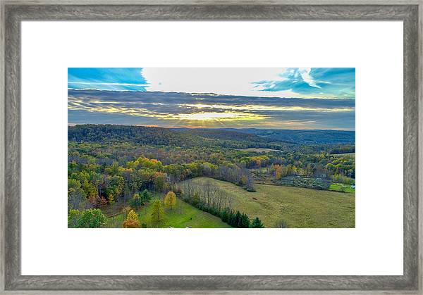 Fall Vibes  Framed Print