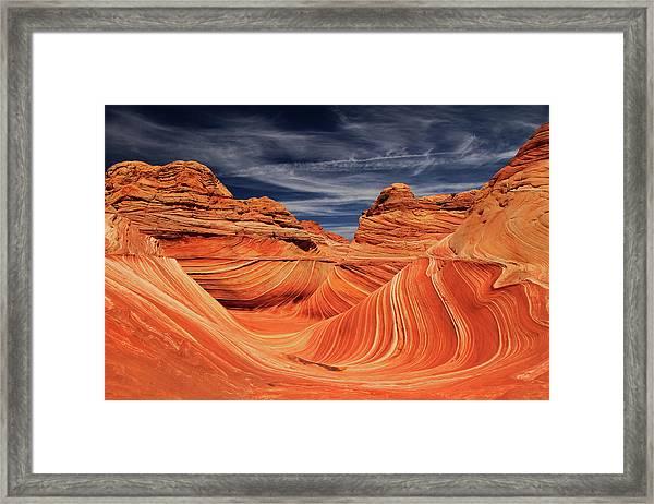 Fantastic Wave Framed Print