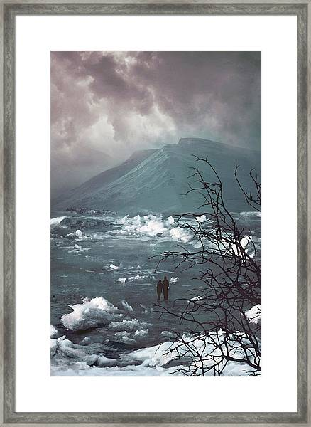 Far Away From Home Framed Print