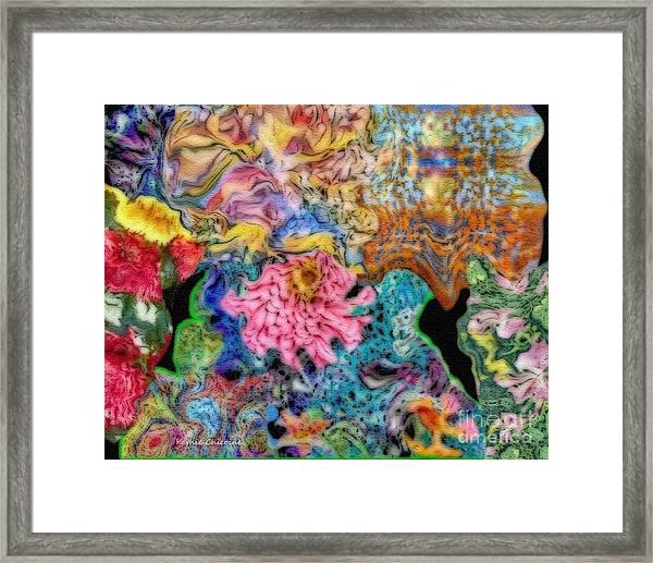 Fascinating Color Framed Print