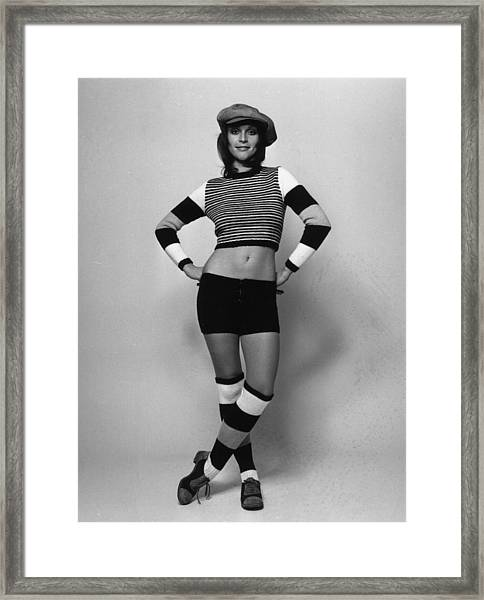 Fashion Stripes Framed Print by Evening Standard
