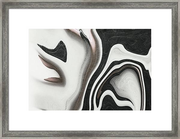 Feminine V Framed Print