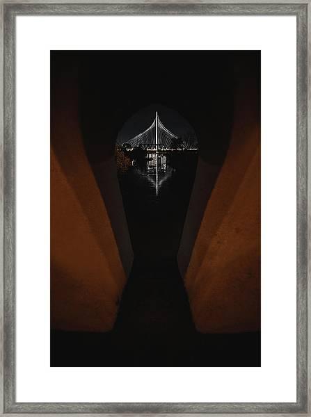 Fenestra Framed Print