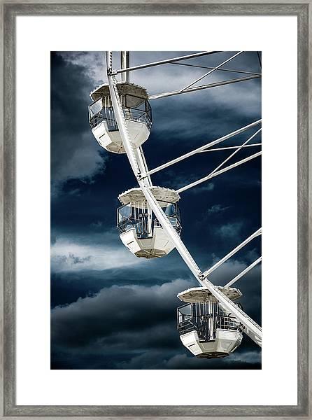 Ferris  Big Wheel, Bournemouth. Framed Print