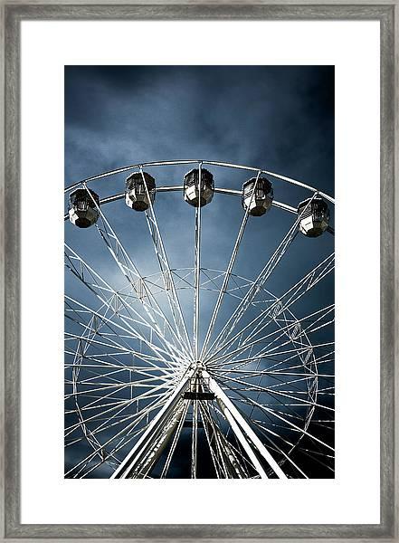 Ferris  Big Wheel, Bournemouth.uk Framed Print