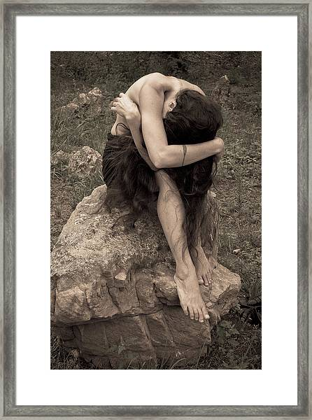 Framed Print featuring the photograph Figurative V by Catherine Sobredo