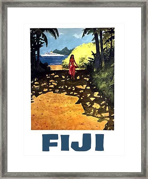 Fiji Framed Print