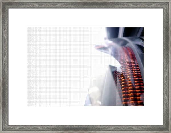 File Transfer 2 Framed Print by Dansin