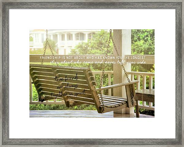 Find Perspective Quote Framed Print