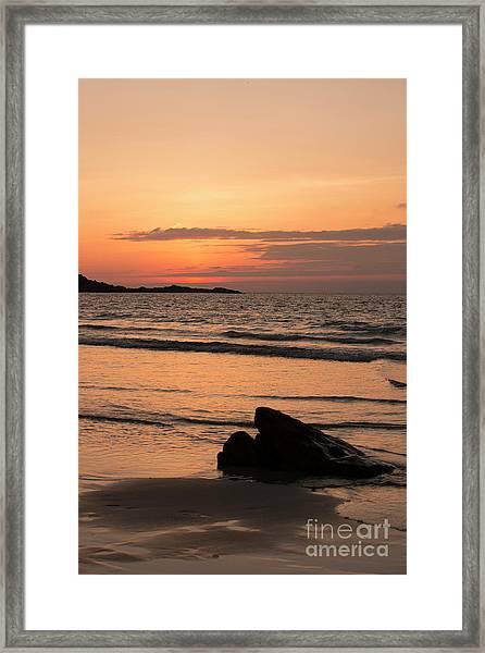 Fine Art Sunset Collection Framed Print