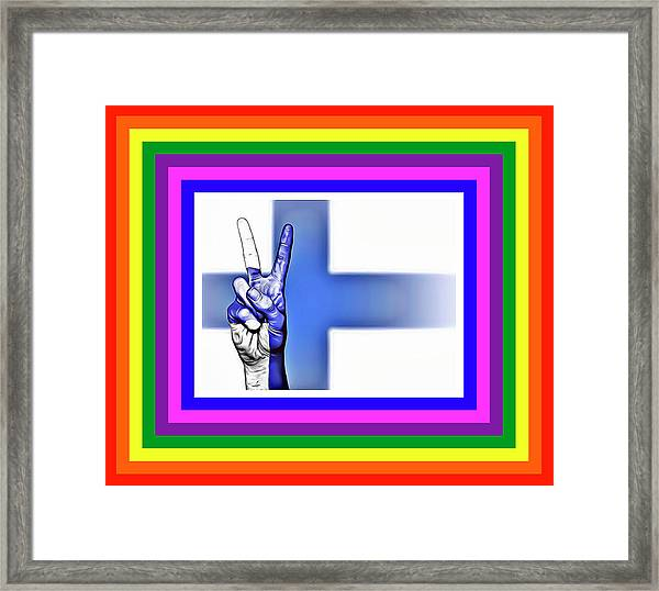 Finland World Peace Framed Print