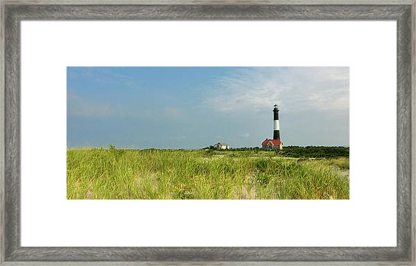 Fire Island Lighthouse Just After Dawn Framed Print