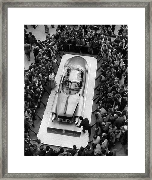 Firebird II Framed Print by Thurston Hopkins