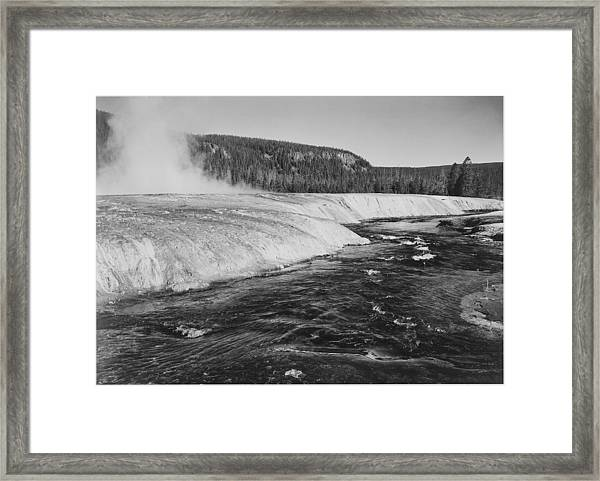 Firehole River, Yellowstone National Framed Print by Buyenlarge