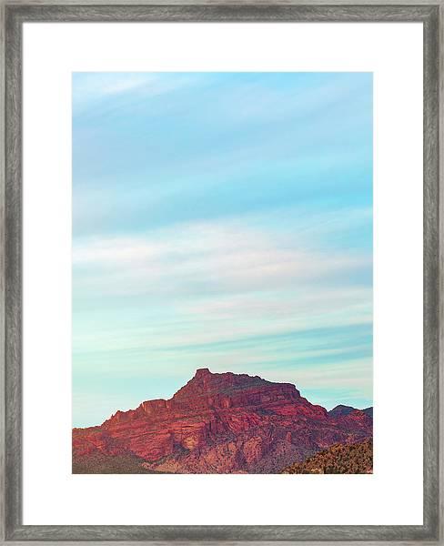 Firerock Framed Print