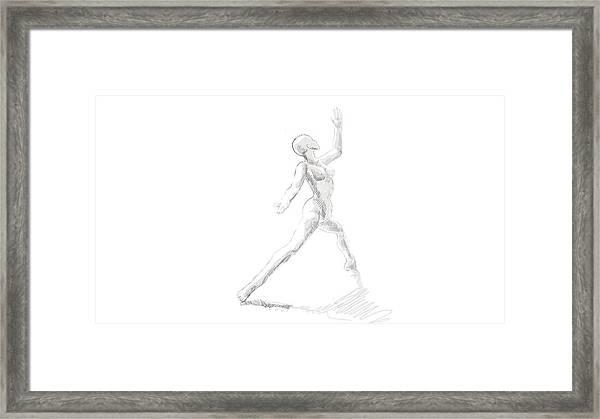 first Dance Framed Print