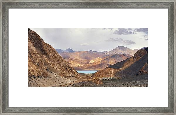 Framed Print featuring the photograph First Glimpse by Whitney Goodey