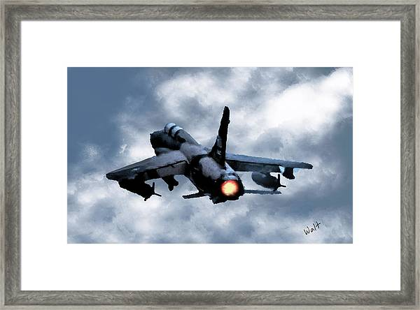 First In Last Out Framed Print