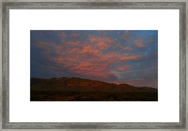 First Light Over Texas 3 Framed Print