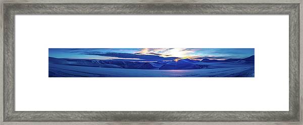 First Sun After Polar Night Framed Print